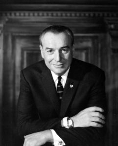 Gov. Winthrop Rockefeller was the first Republican governor of Arkansas elected since reconstruction, serving two terms from 1967 to 1971.